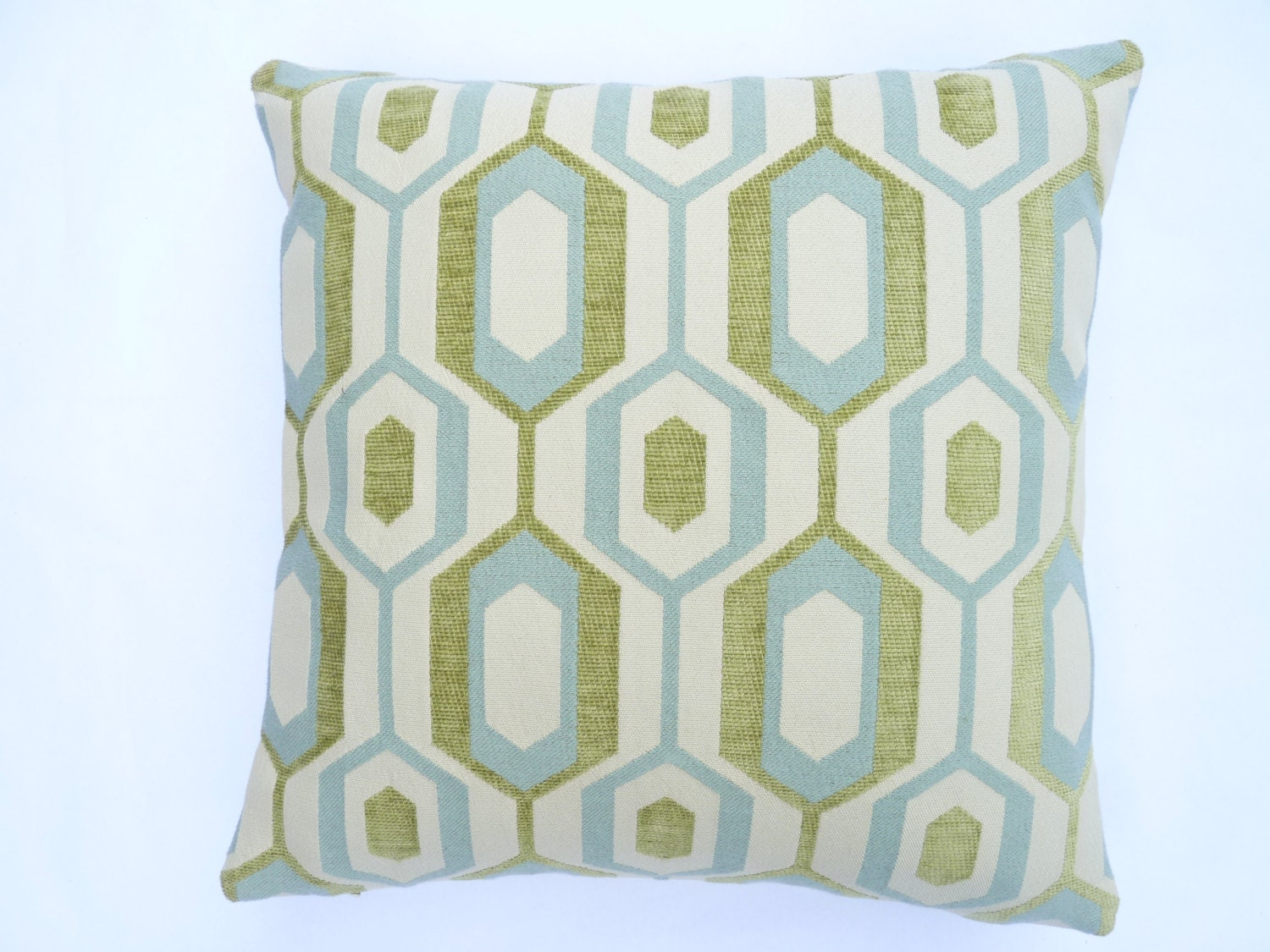 Mid-Century Modern Accent Pillow 17 x 17