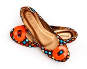 Colorful Polka Dot Ballerina Flats. Colorful Polka Dot Flats. - ChristyNgShoes
