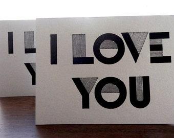 I Love You Card Set