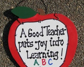 Teachers Gifts - 9171J  Apple Teacher Joy Learning