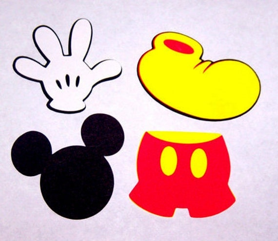Satisfactory image with mickey mouse printable cutouts