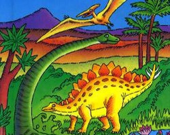 Dinosaur Land - A Children's Personalized Hardcover Book