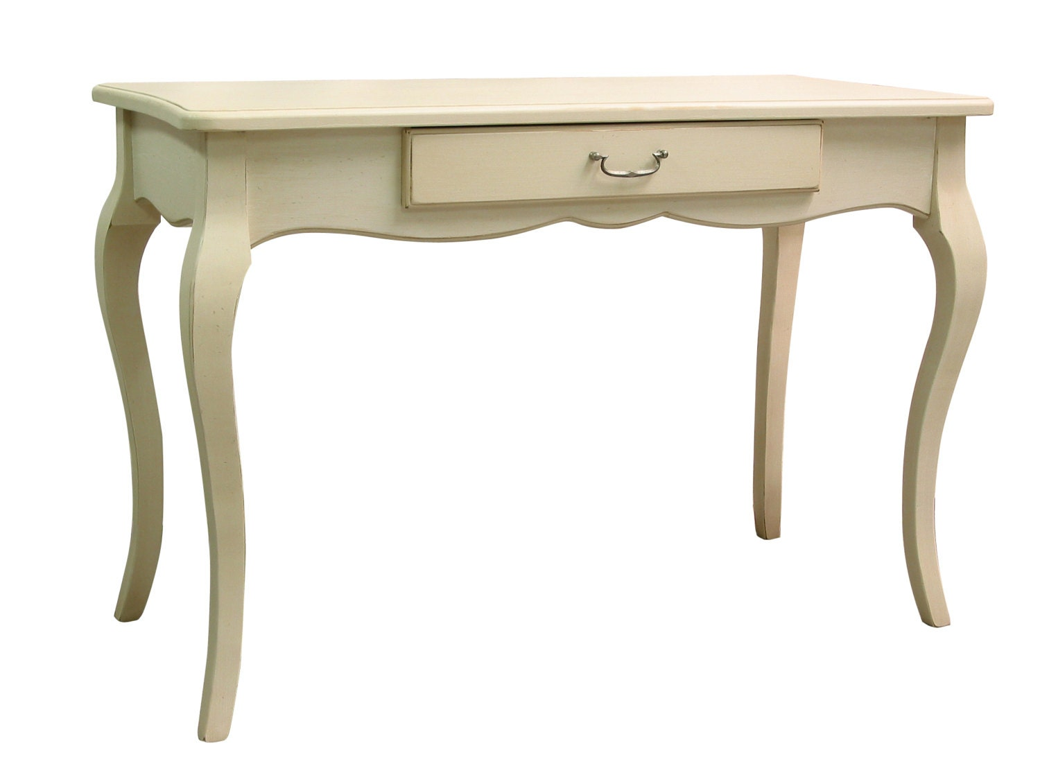 Writing Desk White French Provincial Desk Chabby Painted