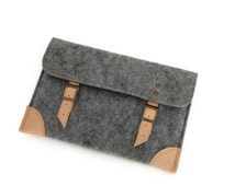 """Felt Case iPad Air Sleeve Bag for iPad, Nexus 10, Kindle Fire 8.9"""" HD and Other 10"""" Tablets with pocket"""
