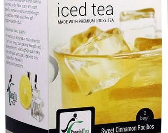 Sweet Cinnamon Gourmet Iced Tea Premium Loose Leaf Rooibos Tea