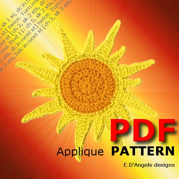 Crochet Pattern SUN
