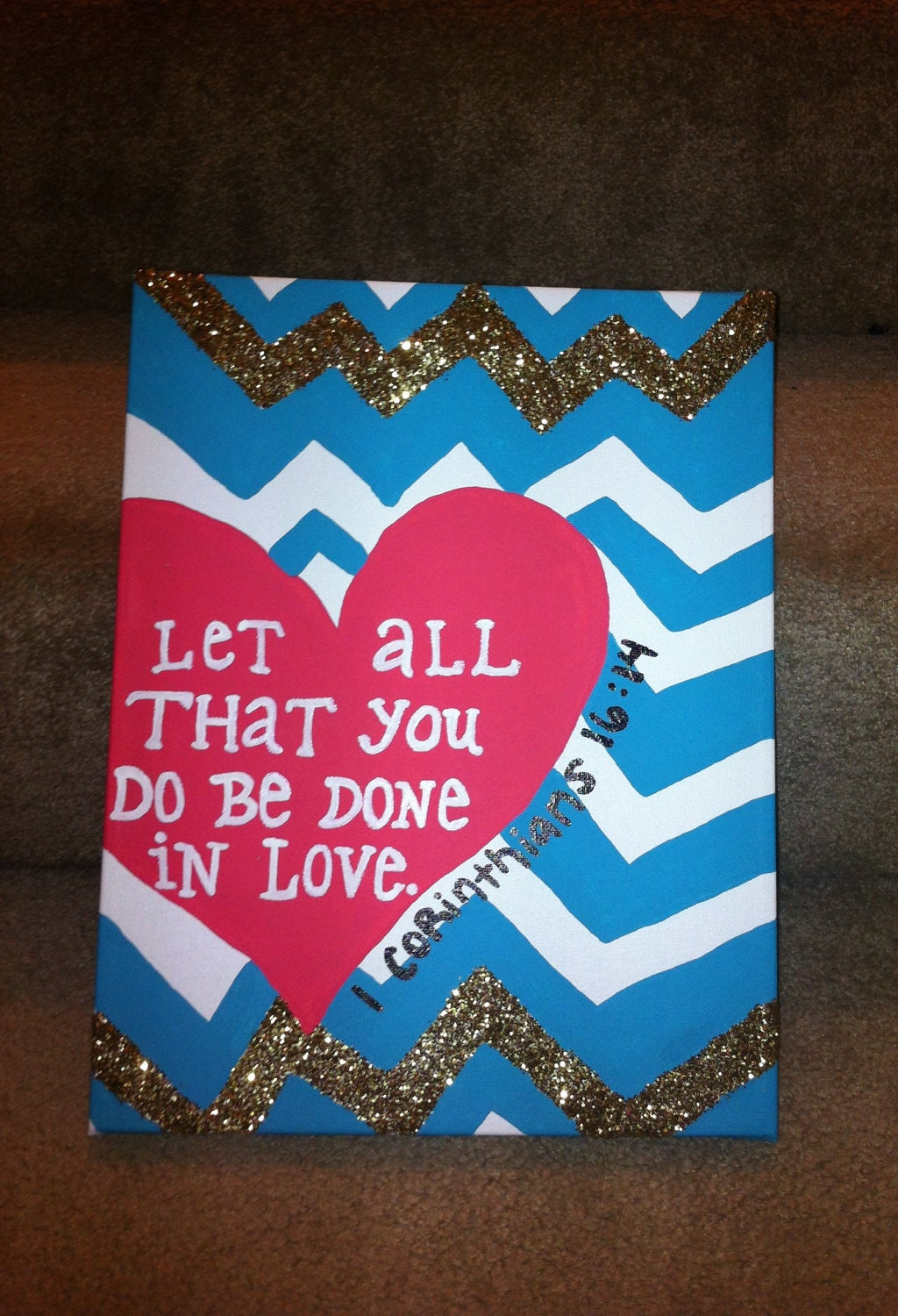 Cute Canvas Ideas With Bible Verses