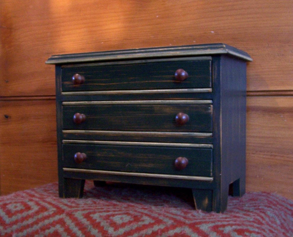 tabletop chest of drawers jewelry box. Black Bedroom Furniture Sets. Home Design Ideas