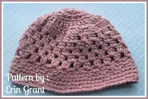 Blessings Chemo Cap Crochet PATTERN