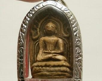 phra kong Thai Buddha amulet for merchant investor miracle maker pendant Thailand antique