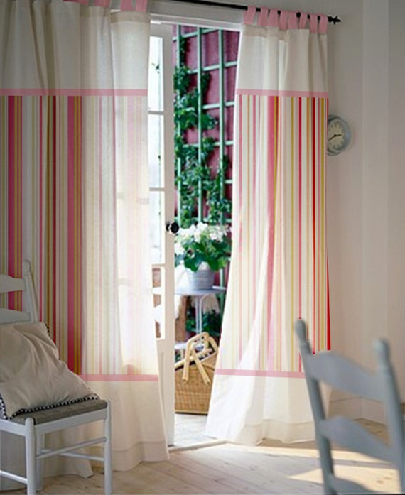 Pair Of 84L 46W Inch Custom Curtains Baby Room Kids
