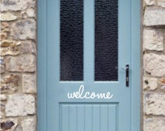 Welcome Wall Decals - Welcome Door Decals