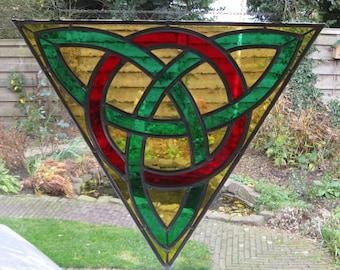 Triquetra ancient celtic symbol.