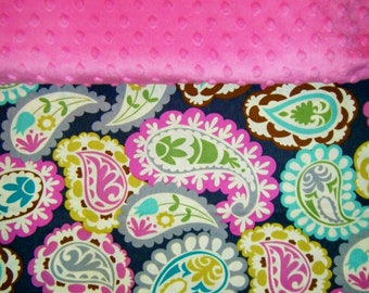 Nap Mat Cover / Toddler Cot Cover - Pretty Paisley - Different Cover Options Available