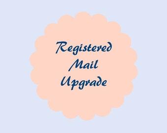 Registered Mail Upgrade