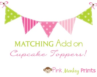 DIY - Matching Cupcake toppers Add On