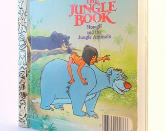 Jungle Book Excellent Condition My First Little Golden Book 1990