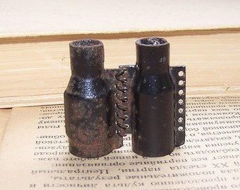 Vintage Found Object. Part of a Machine Gun Belt