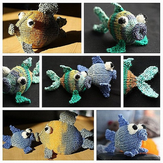 Amigurumi Knit Patterns Easy : Amigurumi fish knitting pattern, easy knitting tutorial ...