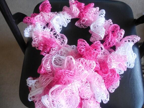 Pink Sashay Scarf