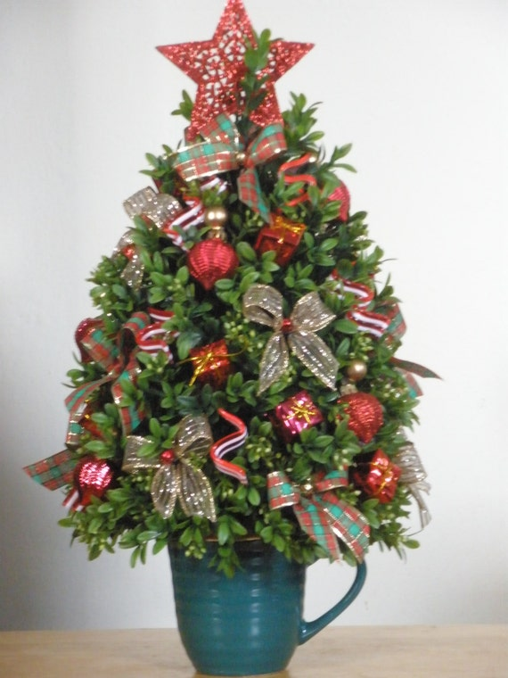 Table Top Artificial Christmas Tree
