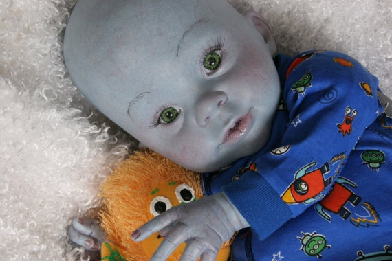 Megamind Reborn Alien Baby Doll By Cosmicencounters On Etsy