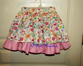 Twirly Skirt, Pink Skirt