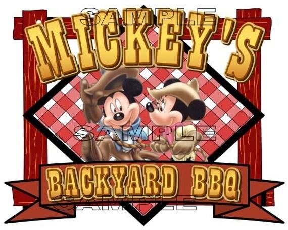 Mickey's Backyard BBQ