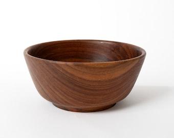 Vintage teak tree bowl, Wooden bowl, Retro teak bowl, Danish teak bowl, Scandinavian bowl, Home decor bowl, Kitchen bowl, Rustic bowl Gift