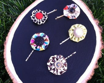 Charming bobby pins for mommy or the babysitter.