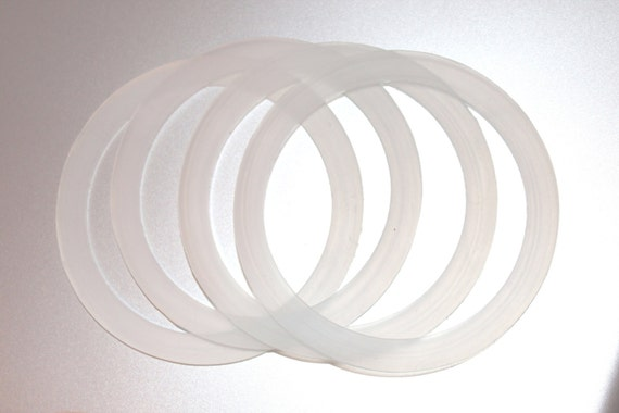 Bulk Silicone Seals For Wide Mouth Storage Caps - 30 Seals