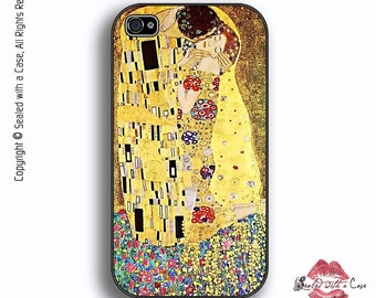 The Kiss - Painting by Gustav Klimt - iPhone 4/4S 5/5S/5C/6/6+ and now iPhone 7 cases!! And Samsung Galaxy S3/S4/S5/S6/S7