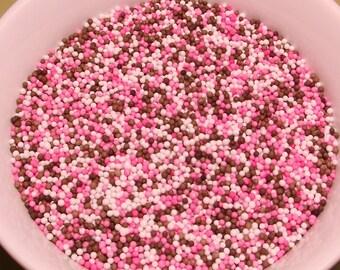Baby Girl Mix Non Pareil Sprinkles 4 oz jar
