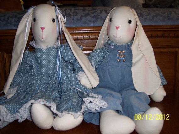 STUFFED RABBITS
