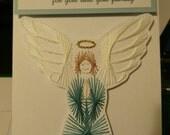 Praying Angel Card