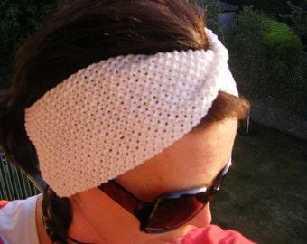 PDF Knitting Pattern for 'St Tropez Headband'