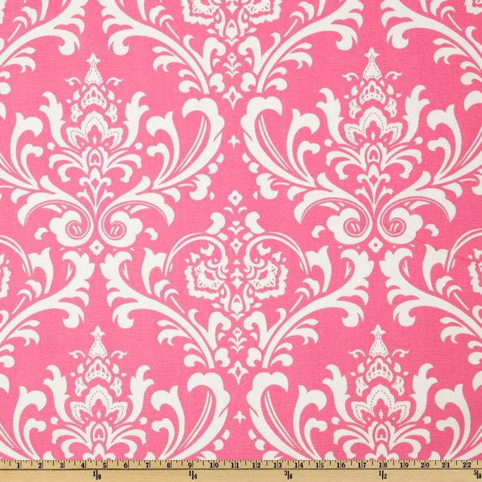 Pink suzani Fabric by the Yard Home Decor floral by