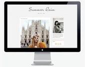 Summer Rain - Self Hosted Wordpress theme