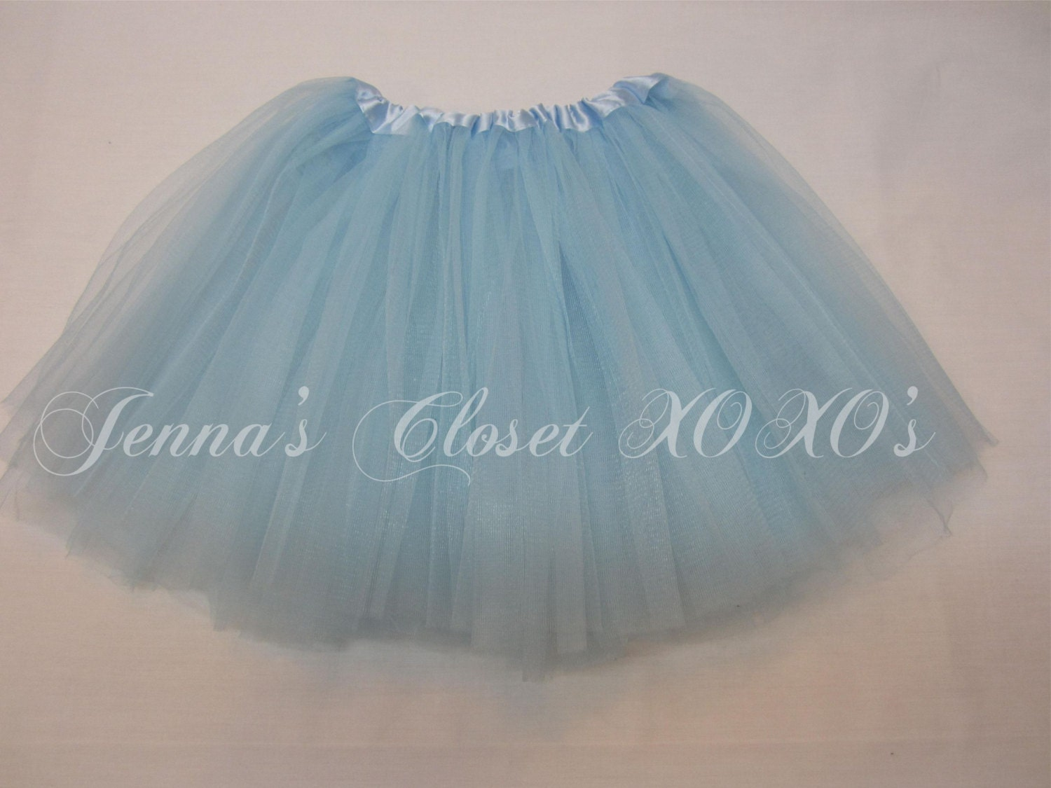 light blue tutu skirt ballet tutu by jennasclosetxoxos on
