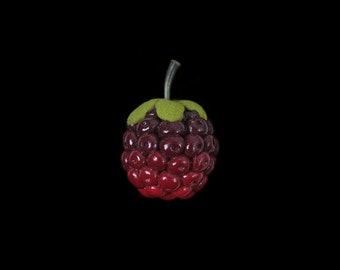 Summer Blackberry (Bramble) Pin Brooch