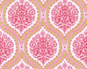 Michael Miller- Pink-Swirly Girls Design- Club House -  Fabric- 1/2 yard