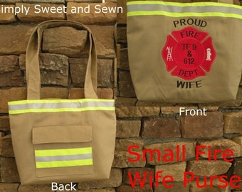 Firefighter Wife Small Purse