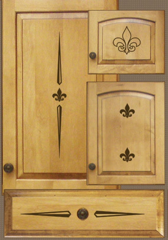 Items similar to Kitchen decals for cabinets. Home decor ...