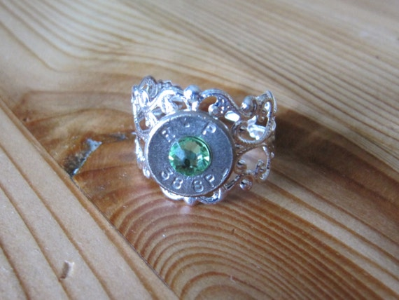bullet jewelry bullet ring country wedding jewelry 38