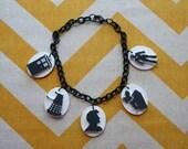 Whovian Doctor Who Charm Bracelet