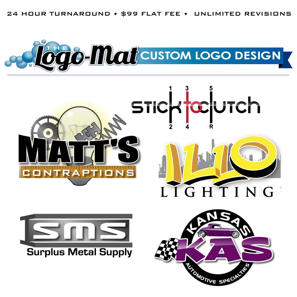 Logo Design Custom Logo Design Custom Logo Business Logo