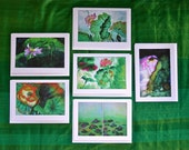Lotus II set of 6 cards