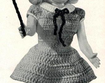 CROCHET PATTERN -- Majorette Doll 007