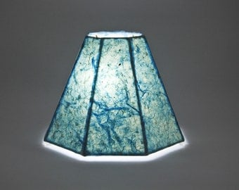 Custom Small Handmade Paper Lampshade