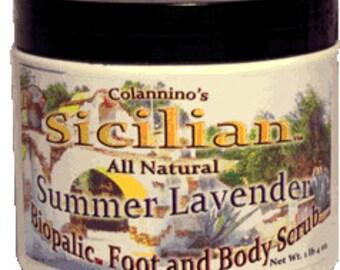 Colannino's Sicilian Moisturizing Foot & Body Scrub